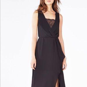 BCBGMaxAzria Koko Black Gown Size 12